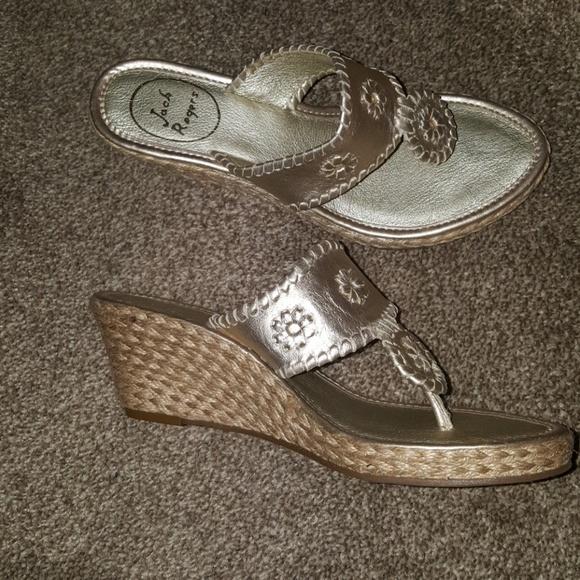 aec4dd34253 Jack Rogers Shoes - Jack Rogers Platinum
